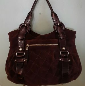 Maxx New York Cowhide Leather bag NWOT